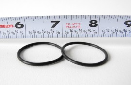 Low Volume O-Rings Set of 2