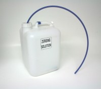 Container Assembly, Zeroing Solution, 5 Gallon, Blue